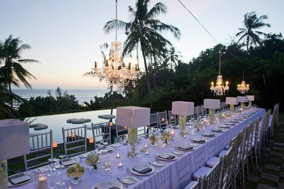 Tropical Bali Wedding At Kailasha Villa Bali Wedding Easy