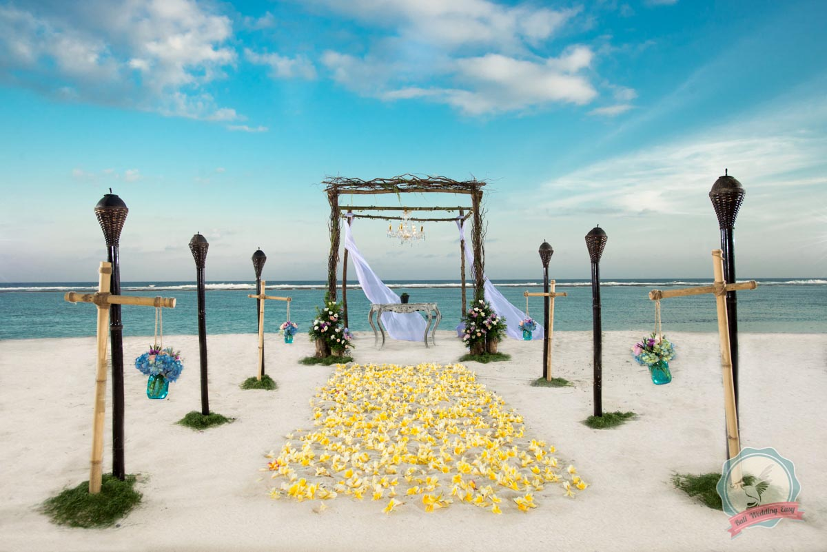 Bali Wedding Beach Sacred Place