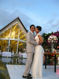 The Shabby Chic Sunset Wedding of Adi & Wike