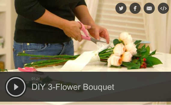Create a Gorgeous Bouquet With Just 3 Flowers