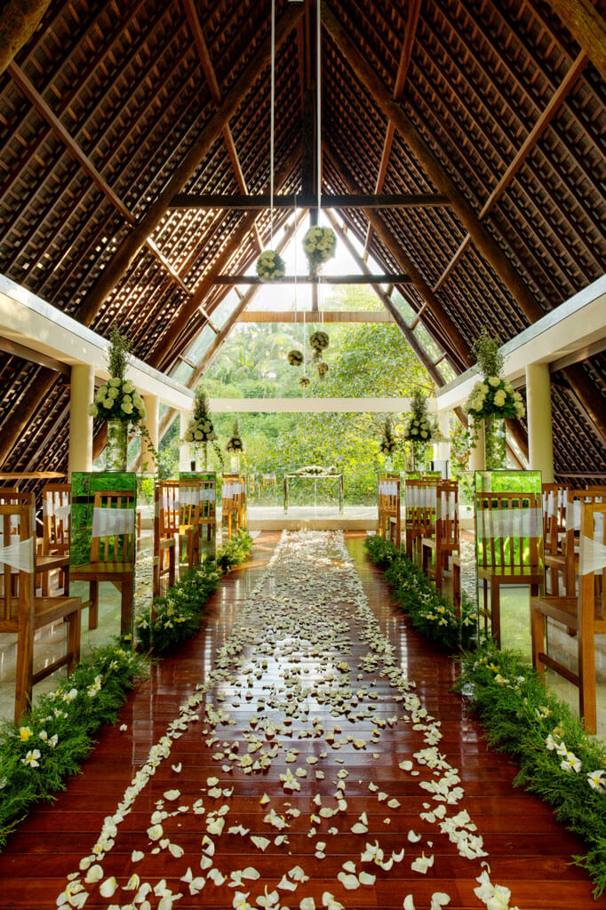 Wanasmara Wedding Chapel At Komaneka Bisma, Ubud