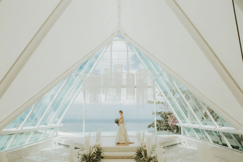 Uluwatu Bali Wedding Chapel Ceremony at Tirtha Bridal
