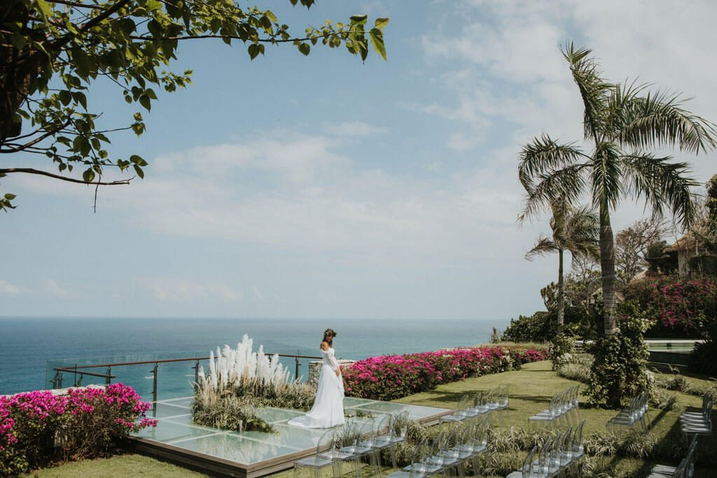 Uluwatu Bali Wedding Ceremony at Tirtha Bridal