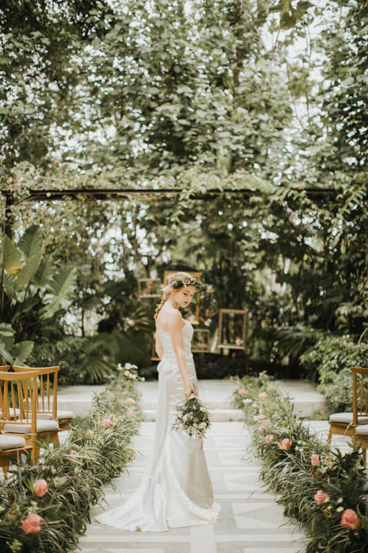 Uluwatu Bali Wedding with Forest View