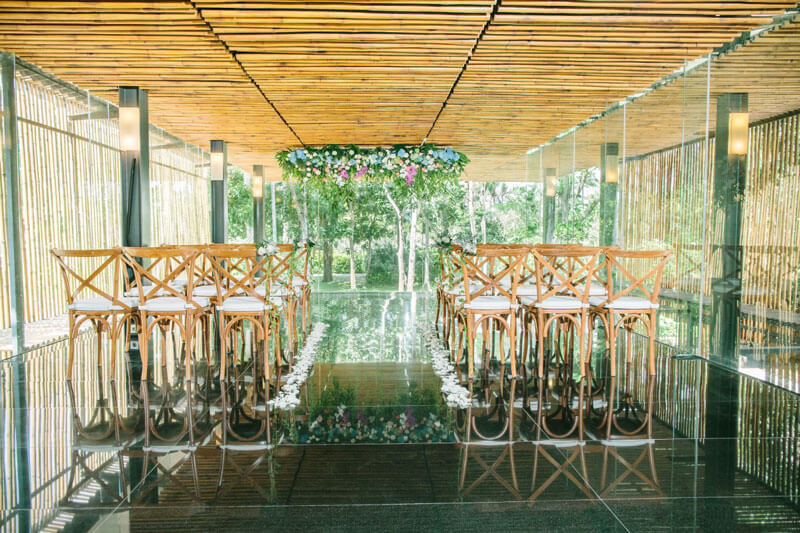 Nusa Dua Bali Wedding Chapel Ceremony at Kayu Manis