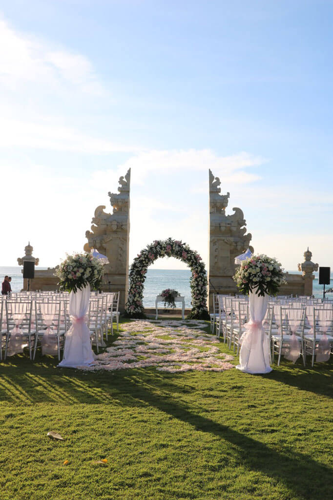Discovery Karika Plaza Hotel, Bali Wedding Beach Front Venue