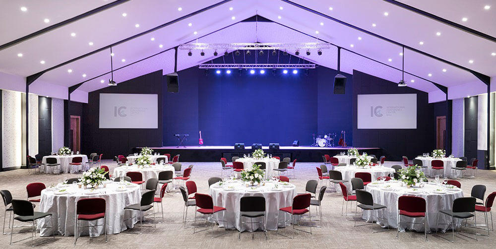 International Conference Center, Ballroom Wedding In Bali