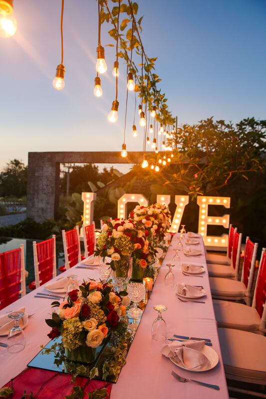 Intimate Wedding Package at Hideaway Villas Bali