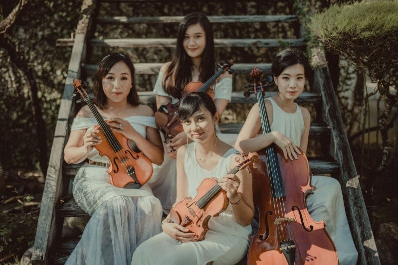 Moira Ensembles, Bali wedding classic string ensemble