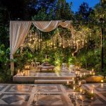 Green Wedding Celebrations at The Glass House by Tirtha Bridal